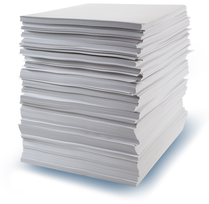 Stack of Eco Paper